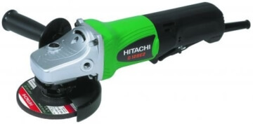Hitachi Betonschleifer + Absaughaube G 12SE2 - 1